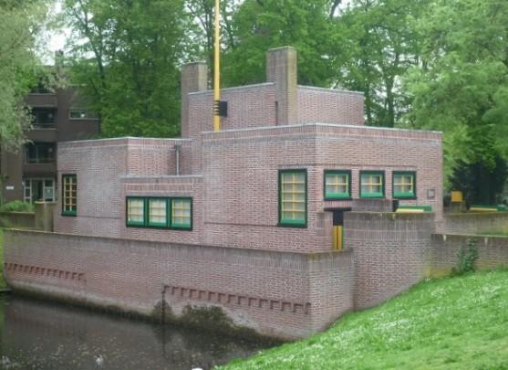 Pompgemaal Hilversum / Pumping Station Hilversum ( W.M. Dudok )