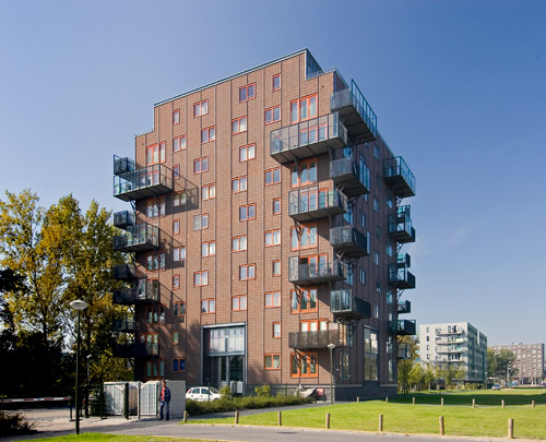 Woongebouw Kavel 26 / Housing Block Kavel 26 ( M.Chr. Rohmer ) 