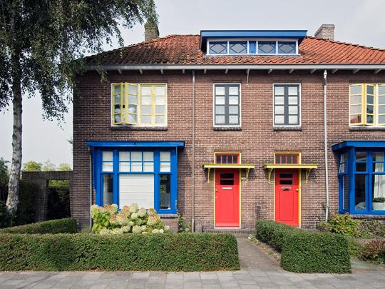 Woningbouw Papegaaienbuurt / Housing Papegaaienbuurt ( Th. van Doesburg )