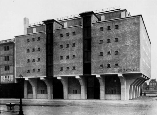 Pakhuis De Zwijger (Blaauwhoedenveem) / Warehouse De Zwijger ( J. de Bie Leuveling Tjeenk )