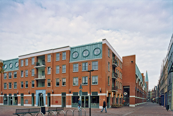 Winkelcentrum De Parade / Shopping Centre De Parade ( Soeters Van Eldonk Ponec )