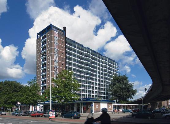 Woongebouw Zuidplein / Housing Block Zuidplein ( W. van Tijen, E.F. Groosman )