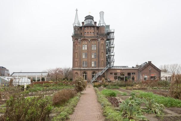 Watertoren Dordrecht (Villa Augustus) / Water Tower Dordrecht (Villa Augustus) ( J.A. van der Kloes )