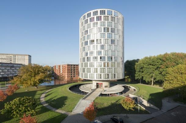 Woongebouw Schutterstoren / Housing Block Schutterstoren ( DKV Architecten )