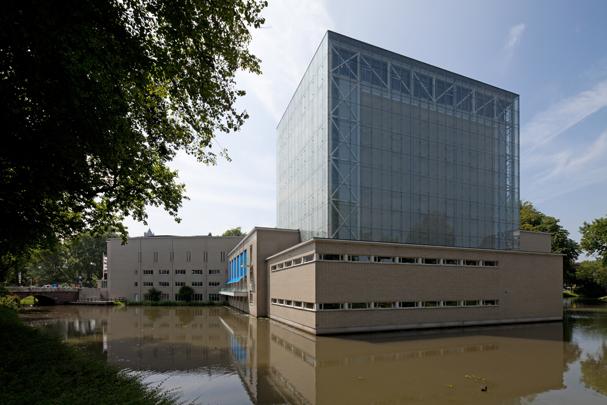 Stadsschouwburg Utrecht (Uitbreiding) / City Theatre Utrecht (Extension) ( H.J.M. Knippers (Architectenbureau Wouda) )