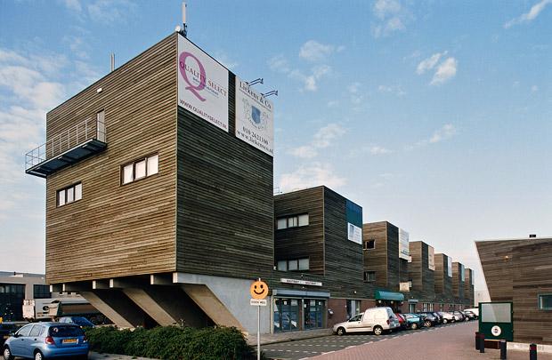 Voorzieningencentrum Bedrijvenpark Rotterdam Noordwest / Business Units Bedrijvenpark Rotterdam Noordwest ( Van Duivenbode & De Jong )