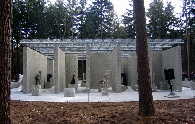 Beeldenpaviljoen Sonsbeek (Reconstructie) / Sculpture Pavillion Sonsbeek (Reconstruction) ( A.E. van Eyck ) 