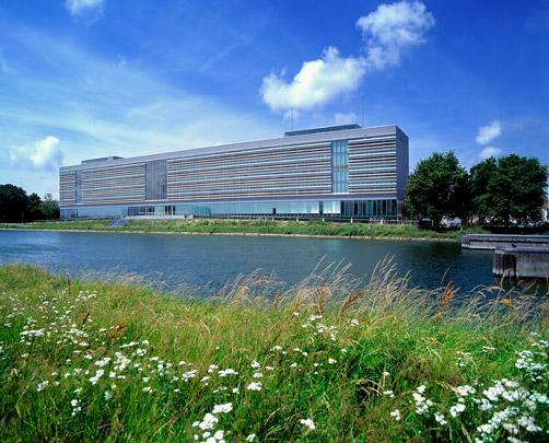 Kantoorgebouw Rijkswaterstaat Middelburg / Office Building Rijkswaterstaat Middelburg ( P. de Ruiter )