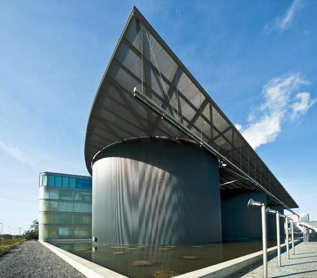Bedrijfsgebouw RWZI / Industrial Building RWZI ( Architectuurstudio Herman Hertzberger )