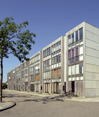Woningbouw Bezaanjachtplein / Housing Bezaanjachtplein ( Bosch Haslett Kruunenberg ) 