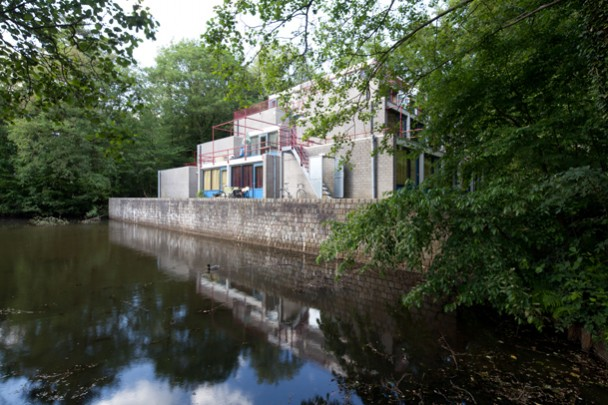 Studentenhuisvesting TU Twente (Piramiden en Mastaba's) / Student Accomodation TU Twente (Piramides and Mastaba's) ( H.P.C. Haan )