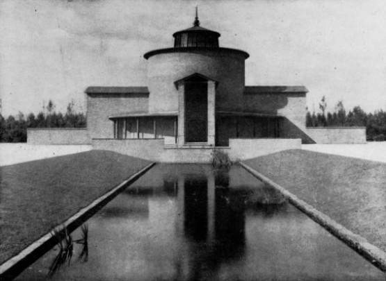 Aula Noorderbegraafplaats / Aula Noorderbegraafplaats ( G. Friedhoff )