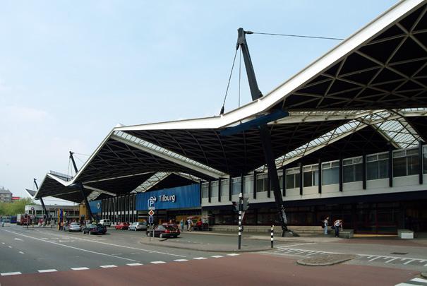 Station Tilburg / Station Tilburg ( K. van der Gaast )