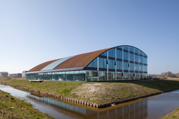 Bedrijfsgebouw ESIC (European Space Innovation Centre) / Bedrijfsgebouw ESIC (European Space Innovation Centre) ( cepezed )