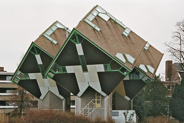 Kubuswoningen Helmond / Cube Houses Helmond ( P. Blom )