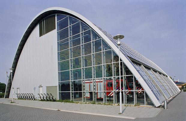 Brandweerkazerne Houten / Fire Station Houten ( Ph. Samyn )