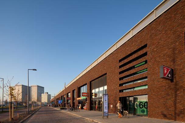 Parkboulevard Big Shops/Dakpark / Parkboulevard Big Shops/Dakpark ( Buro Sant en Co; Butzelaar Van Son, Architecten )