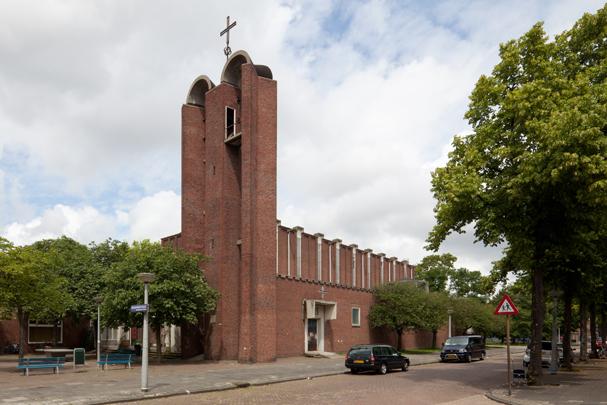 RK kerk Christus Koning Amsterdam / Roman Catholic Church Amsterdam (Christus Koning) ( H.J. van Balen, K.P. Tholens )