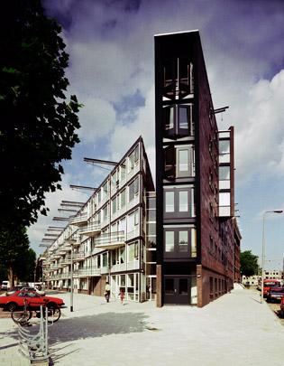Woningbouw Pontanusstraat / Housing Pontanusstraat ( E.M. van der Pol )