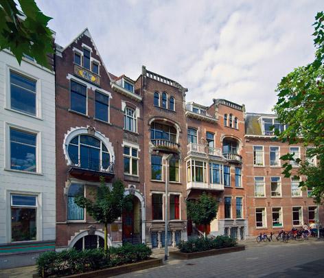 Woonhuizen Schiedamsesingel / Private Houses Schiedamsesingel ( A. van Ameijden van Duijm Dzn. )