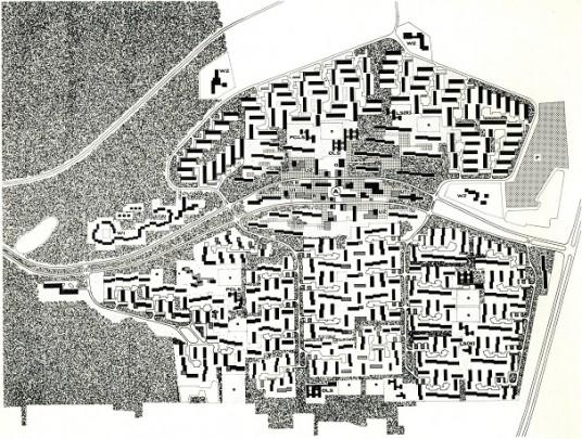 Stedenbouwkundig plan Emmerhout / Urban Design Emmerhout ( N.A. de Boer, A.J.M. de Jong )