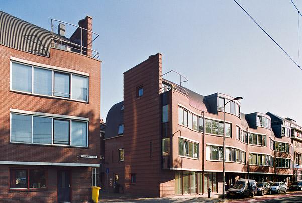 Woningbouw Phoenixstraat / Housing Phoenixstraat ( Molenaar & Van Winden )