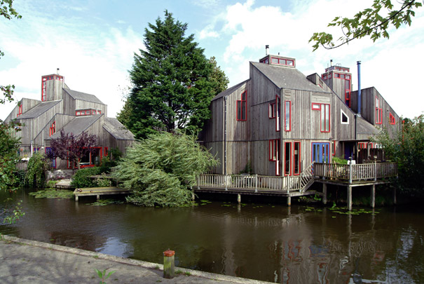 Woningbouw Houtskeletbouw / Housing Houtskeletbouw ( A. Bonnema )