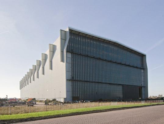 Scheepsbouwloods Van der Giessen-De Noord / Ship-builder's Shed Van der Giessen-De Noord ( W.G. Quist )