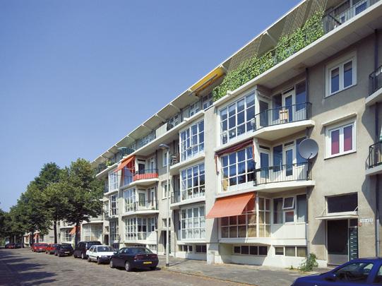 Woningbouw Vredenoordlaan / Housing Vredenoordlaan ( Brinkman & Van den Broek )
