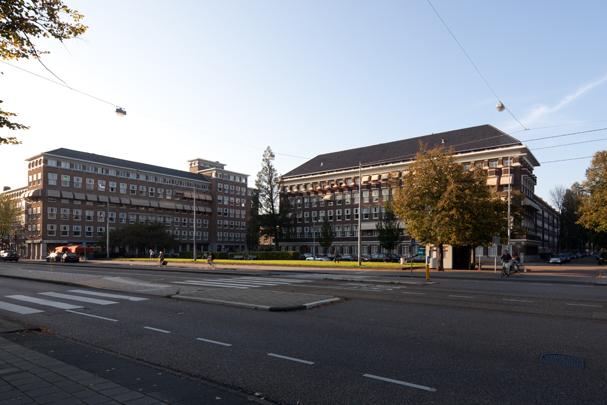 Woningbouw Minervaplein / Housing Minervaplein ( C.J. Blaauw, J. Roodenburgh )