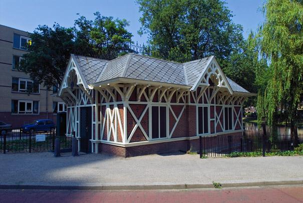 Pompgemaal annex Vuilvishuisje / Pumping Station ( G.J. de Jongh (Gemeentewerken) )