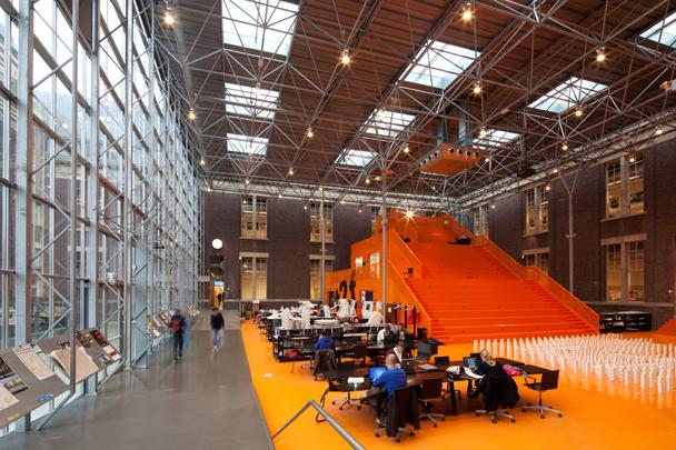 BK City (Hoofdgebouw TU Delft) / BK City (Hoofdgebouw TU Delft) ( G. van Drecht (RGD) )