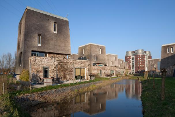 Woningbouw Driegatenbrug / Housing Driegatenbrug ( Groosman Partners )