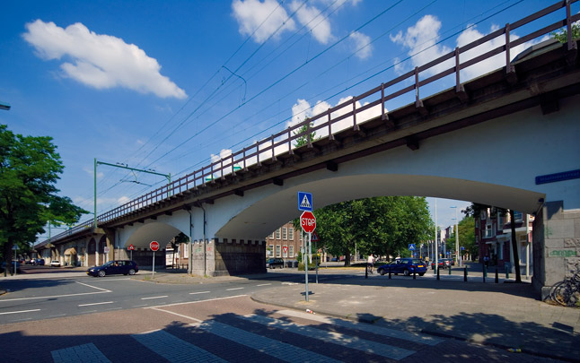 Hofpleinviaduct/Hofbogen / Hofplein Viaduct; Hofbogen ( A.C.C.G. van Hemert (HBG) )