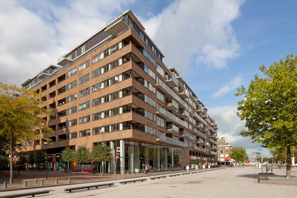 Woongebouw De Hofdame / Housing Block De Hofdame ( M. de Ruiter (Klunder Architecten) )