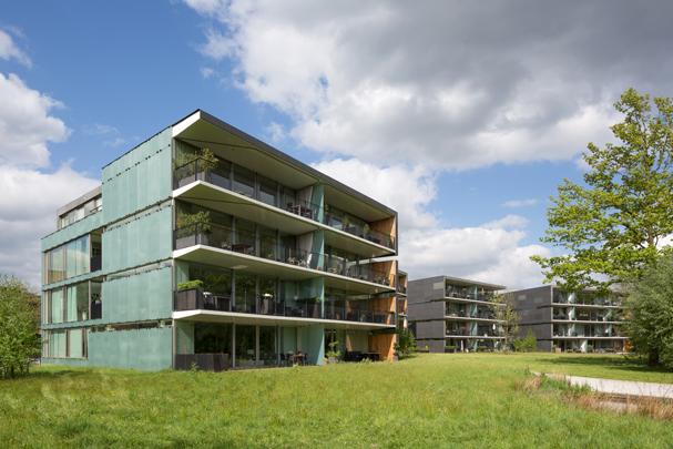 Woningbouw De Parels van Oisterwijk / Housing De Parels van Oisterwijk ( Güller Güller, Chr.F. Müller )