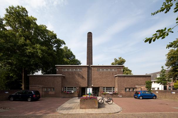 Badhuis Bosdrift / Bathhouse Bosdrift ( W.M. Dudok )
