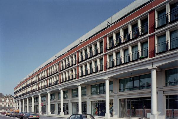 Stadsvernieuwing Vaillantlaan / Urban Redevelopment Vaillantlaan ( J.M.J. Coenen )