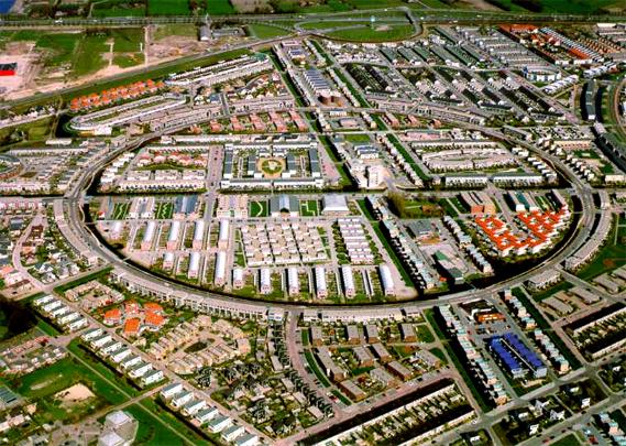 Stedenbouwkundig plan Kattenbroek / Urban Design Kattenbroek ( A.K. Bhalotra (Kuiper Compagnons) )