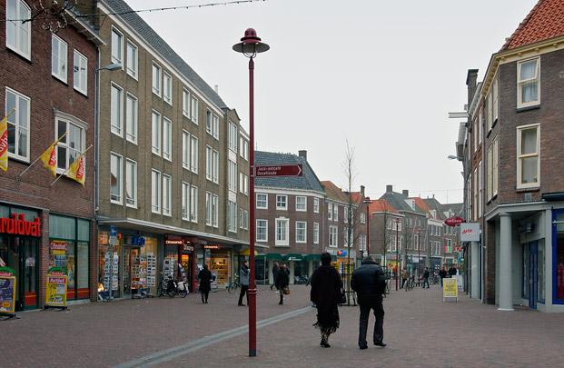 Wederopbouw Middelburg / Post-war Reconstruction Middelburg ( P. Verhagen Lzn. )
