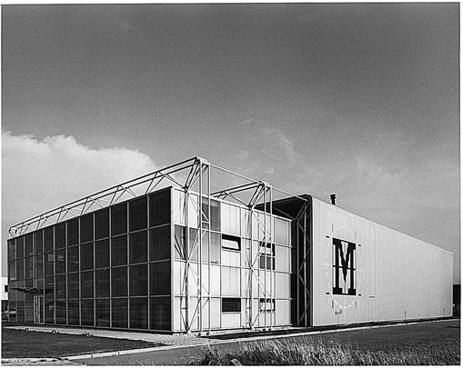 Bedrijfsgebouw MORS / Industrial Building Mors ( Benthem Crouwel )