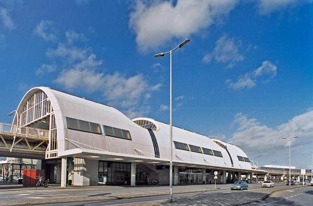 Metrostations Centrum, Heemraadlaan, De Akkers / Metro Stations Centrum, Heemraadlaan, De Akkers ( C.J.M. Weeber, C. Veerling (Gemeentewerken Rotterdam) )