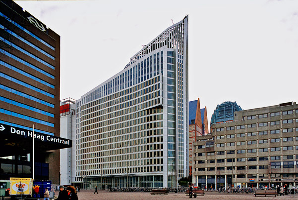 Hoftoren (Ministerie van OCW) / Ministry of Education ( Kohn Pedersen Fox (KPF) )
