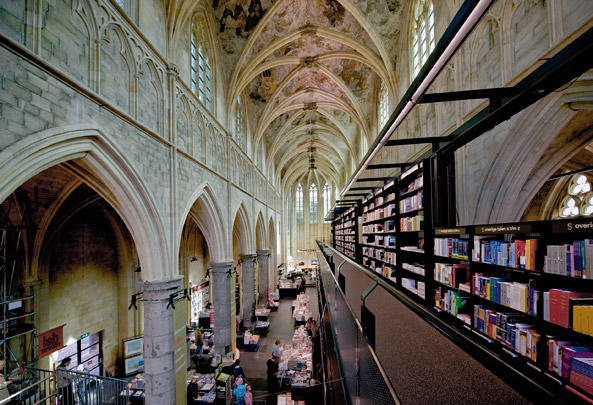 Boekhandel Selexyz Maastricht / Bookshop Selexyz Maastricht ( Merkx + Girod ) 