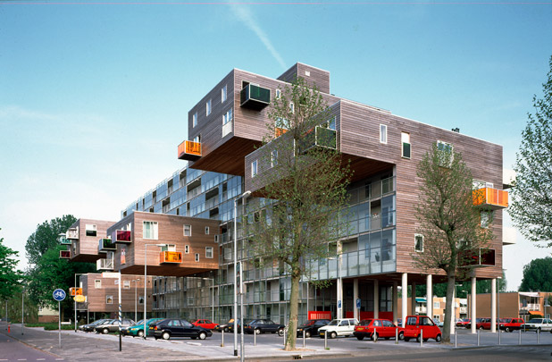 Woonzorgcomplex Oklahoma / Sheltered Housing Complex Oklahoma ( MVRDV ) 