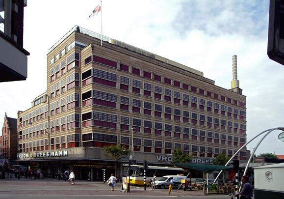 Warenhuis Vroom & Dreesmann Haarlem / Department Store Vroom & Dreesmann Haarlem ( J.Th.A.M. Kuijt Wzn. )