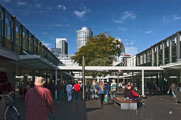 Winkelcentrum De Lijnbaan / Shopping Centre De Lijnbaan ( Van den Broek & Bakema )