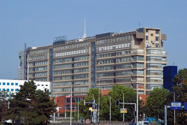 Ziekenhuis Dijkzigt / Dijkzigt Hospital ( A. Viergever, B.M. den Hollander (Gemeentewerken) )