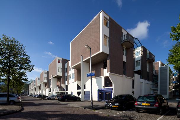 Woningbouw Sint-Jacobsplaats / Housing Sint-Jacobsplaats ( N.F.J. Zwarts (Studio Acht) )