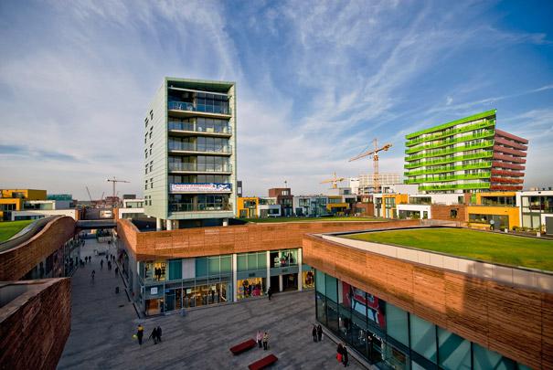 Winkelcentrum Citadel / Shopping Centre Citadel ( Chr. de Portzamparc )